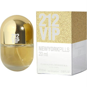 212 Vip By Carolina Herrera Eau De Parfum Spray .68 Oz (pills Edition)