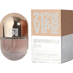 212 Vip Rose By Carolina Herrera Eau De Parfum Spray .68 Oz (pills Edition)