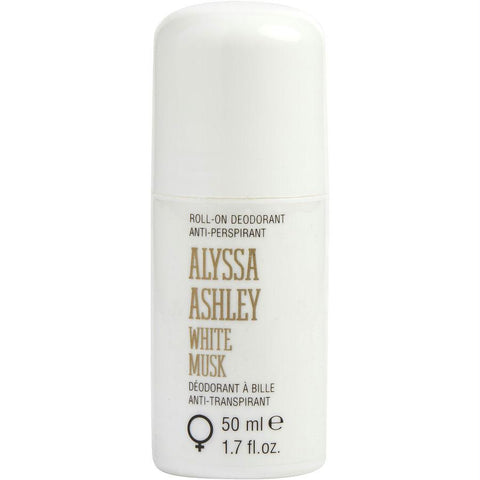 Alyssa Ashley White Musk By Alyssa Ashley Deodorant Anti-transpirant Roll On 1.7 Oz