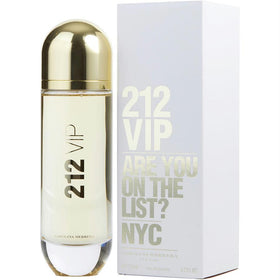 212 Vip By Carolina Herrera Eau De Parfum Spray 4.2 Oz
