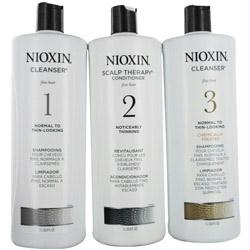 Set-3 Piece Maintenance Kit System 6 With Cleanser 10.1 Oz & Scalp Therapy 10.1 Oz & Scalp Treatment 3.38 Oz