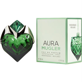 Aura Mugler By Thierry Mugler Eau De Parfum Refillable Spray 1.7 Oz