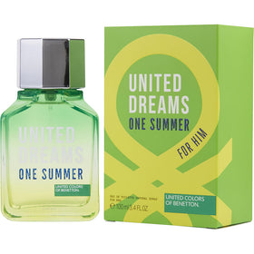 Benetton United Dreams One Summer By Benetton Edt Spray 3.4 Oz (edition 2017)
