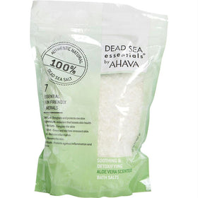 Dead Sea Essentials Aloe Vera Scented Bath Salts --907g/32oz