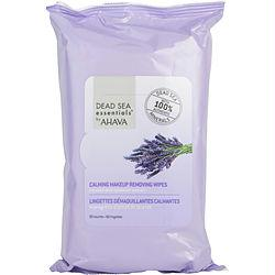 Dead Sea Essentials Lavender Calming Make Up Removing Wipes--60pcs