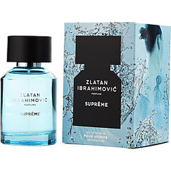 Zlatan Ibrahimovic Pour Homme Supreme By Zlatan Ibrahimovic Parfums Edt Spray 3.4 Oz