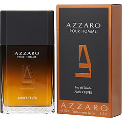 Azzaro Pour Homme Amber Fever By Azzaro Edt Spray 3.4 Oz