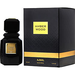Ajmal Amber Wood By Ajmal Eau De Parfum Spray 3.4 Oz