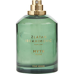 Zlatan Ibrahimovic Pour Homme Myth Wood By Zlatan Ibrahimovic Parfums Edt Spray 3.4 Oz *tester