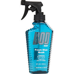 Bod Man Fresh Blue Musk By Parfums De Coeur Fragrance Body Spray 8 Oz