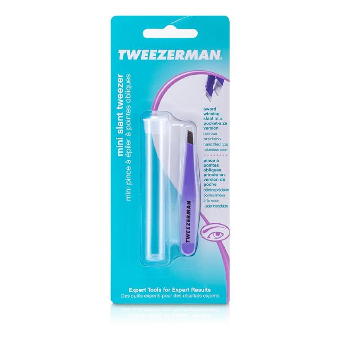 Mini Slant Tweezer - Lovely Lavendar - -