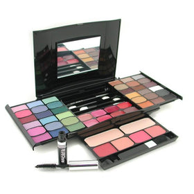 MakeUp Kit G2327 (2x Powder, 36x Eyeshadows, 4x Blusher, 1xMascara, 1xEye Pencil, 8x Lip Gloss, 4x Applicators) - -