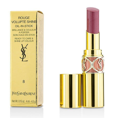 Rouge Volupte Shine - # 8 Pink In Confidence/ Pink Blouson - 4.5g/0.15oz