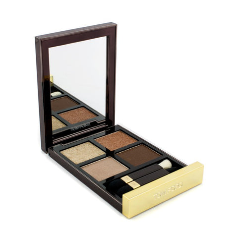 Eye Color Quad - # 01 Golden Mink - 10g/0.35oz