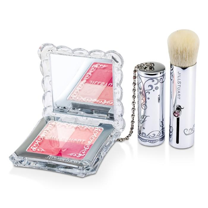 Mix Blush Compact N (4 Color Blush Compact + Brush) - # 07 Sweet Primrose - 8g/0.28oz