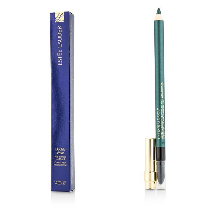 Double Wear Stay In Place Eye Pencil (New Packaging) - #07 Emerald Volt - 1.2g/0.04oz