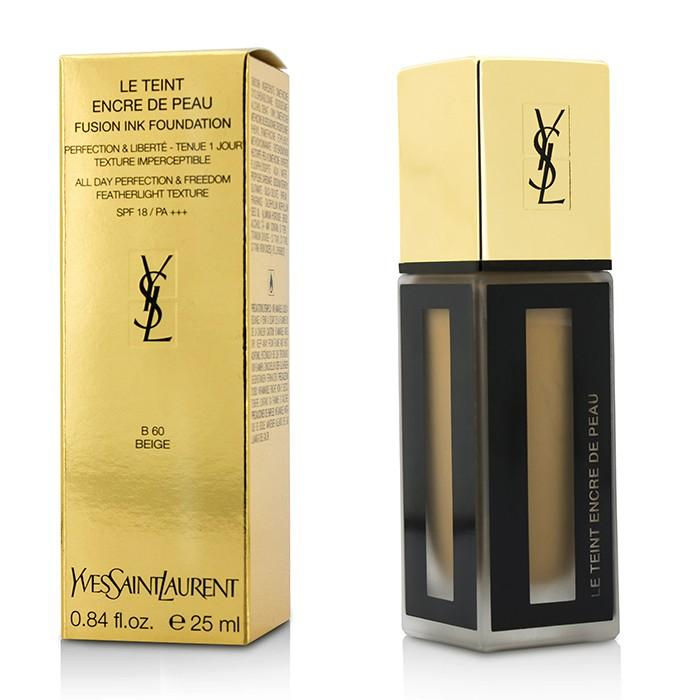 Le Teint Encre De Peau Fusion Ink Foundation SPF18 - # B60 Beige - 25ml/0.84oz