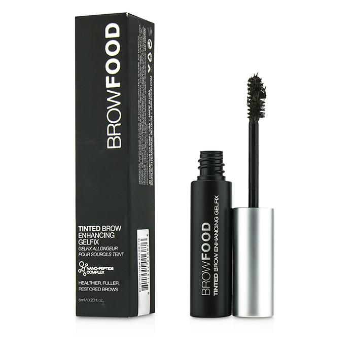 BrowFood Tinted Brow Enhancing Gelfix - # Dark Brunette - 6ml/0.2oz
