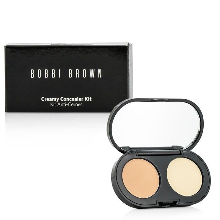 New Creamy Concealer Kit - Cool Sand Creamy Concealer + Pale Yellow Sheer Finish Pressed Powder - 3.1g/0.11oz