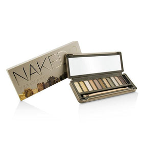 Naked 2 Eyeshadow Palette: 12x Eyeshadow, 1x Doubled Ended Shadow/Blending Brush - -