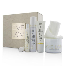 Restorative Ritual Set: Cleanser 200ml+Face Treatment 50ml+Eye Treatment 15ml+Daily Protection SPF 50 50ml+Muslin Cloth - 5pcs