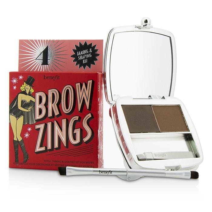 Brow Zings (Total Taming & Shaping Kit For Brows) - #4 (Medium) - 4.35g/0.15oz