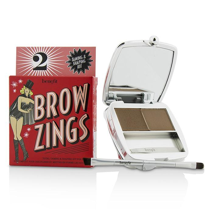 Brow Zings (Total Taming & Shaping Kit For Brows) - #2 (Light) - 4.35g/0.15oz