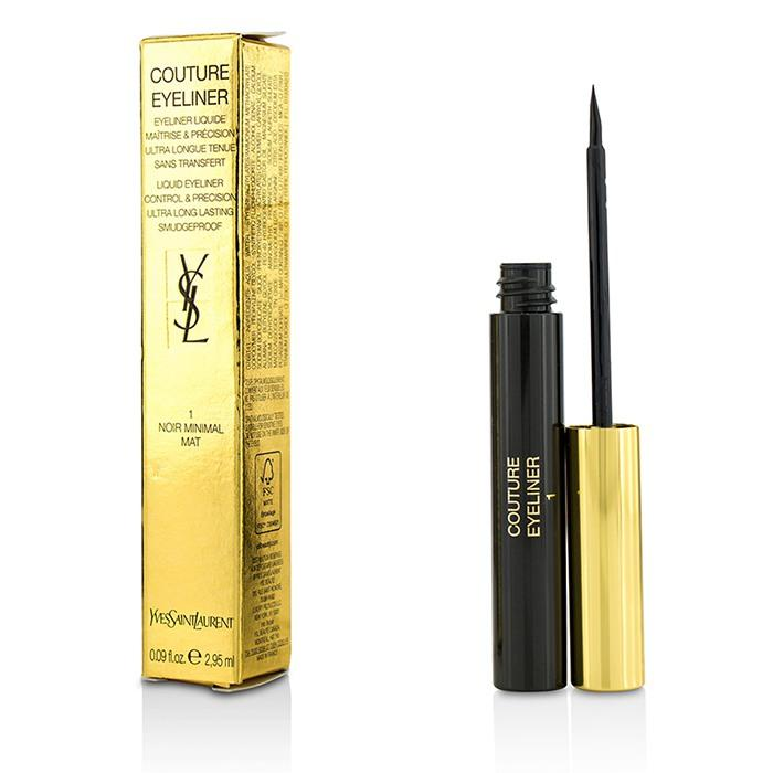 Couture Liquid Eyeliner - # 1 Noir Minimal Mat - 2.95ml/0.09oz