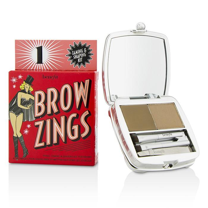 Brow Zings (Total Taming & Shaping Kit For Brows) - #1 (Light) - 4.35g/0.15oz
