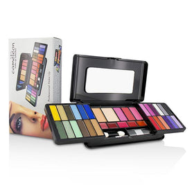 MakeUp Kit Deluxe G2215 (24x Eyeshadow, 3x Blusher, 2x Pressed Powder, 5x Lipgloss, 2x Applicator) - -