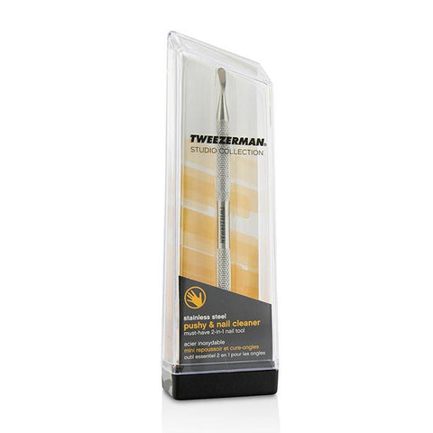 Stainless Steel Pushy & Nail Cleaner (Studio Collection) - -