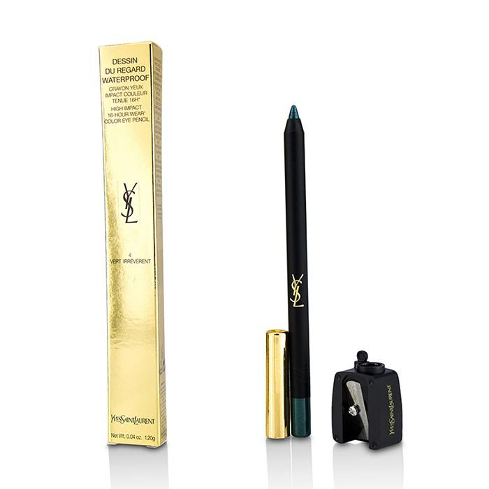 Dessin Du Regard Waterproof High Impact Color Eye Pencil - # 4 Vert Irreverent - 1.2g/0.04oz
