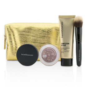Take Me With You Complexion Rescue Try Me Set - # 02 Vanilla - 3pcs+1bag