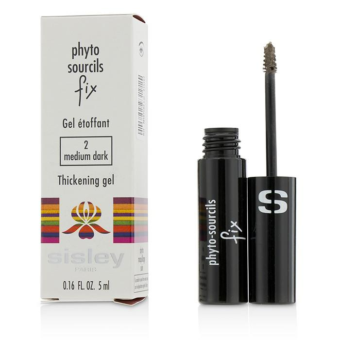 Phyto Sourcils Fix Thickening Gel - # 2 Medium Dark - 5ml/0.16oz