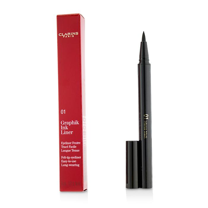 Graphik Ink Liner - #01 Intense Black - 0.4ml/0.01oz