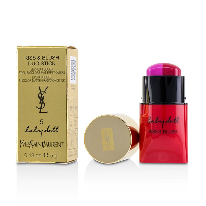 Baby Doll Kiss & Blush Duo Stick - # 5 From Darling To Hottie - 5g/0.18oz