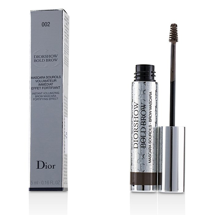 Diorshow Bold Brow Instant Volumizing Brow Mascara - # 002 Dark - 5ml/0.16oz