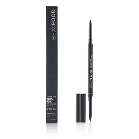 BrowFood Ultra Fine Brow Pencil Duo - # Taupe - 0.10g/0.0035oz