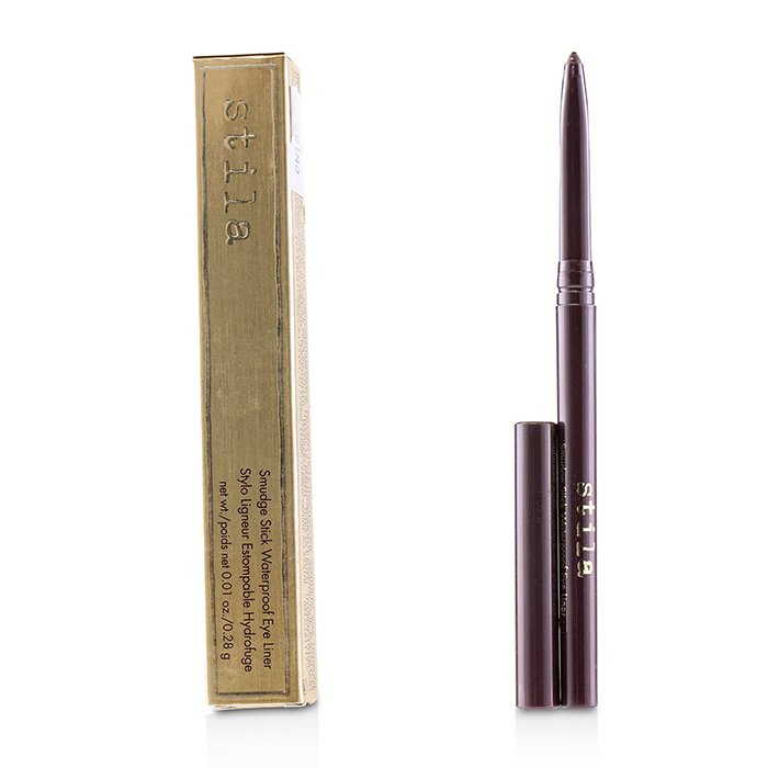 Smudge Stick Waterproof Eye Liner - # Deep Burgundy (Matte Black Plum) - 0.28g/0.01oz