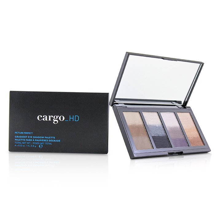 HD Picture Perfect Gradient Eye Shadow Palette (4x Eyeshadow) - 4x3.6g/0.12oz