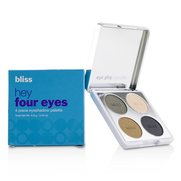 Hey Four Eyes 4 Piece Eyeshadow Palette - # Sage - 6.8g/0.24oz