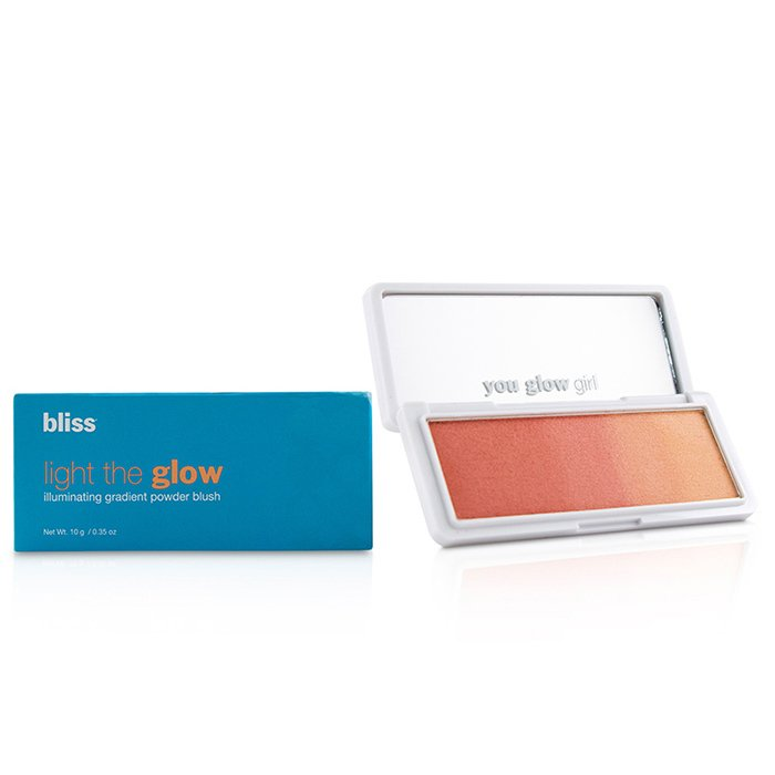 Light the Glow Illuminating Gradient Powder Blush - # Bellini Sunset - 10g/0.35oz