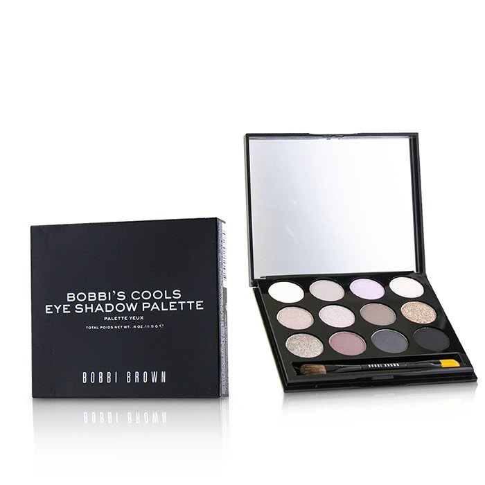 Bobbi's Cools Eye Shadow Palette (12x Eye Shadow) - 11.5g/0.4oz