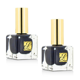 Pure Color Nail Lacquer Duo Pack - # GM Blue Blood - 2x9ml/0.3oz