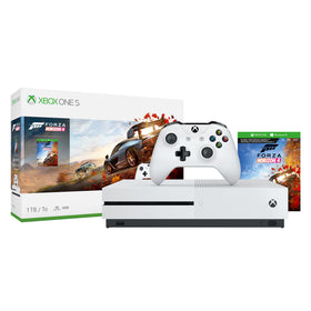 Microsoft Xbox One S 1TB Forza Horizon 4 Bundle, White, 234-00552Microsoft Xbox One S 1TB Forza Horizon 4 Bundle, White,