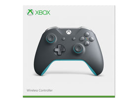Microsoft Xbox One, Wireless Controller, Gray & Blue, WL3-00105Microsoft Xbox One, Wireless Controller, Gray & Blue, WL3-00105