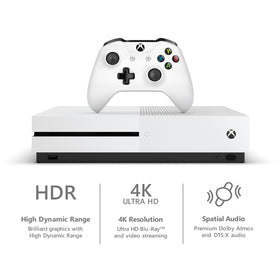 Microsoft Xbox One S 1TB Minecraft Bundle, White, 234-00506Microsoft Xbox One S 1TB Minecraft Bundle, White, 234-00506