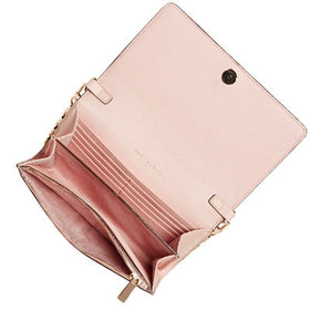 Tory Burch Robinson Wallet On Chain Bag (PINK)