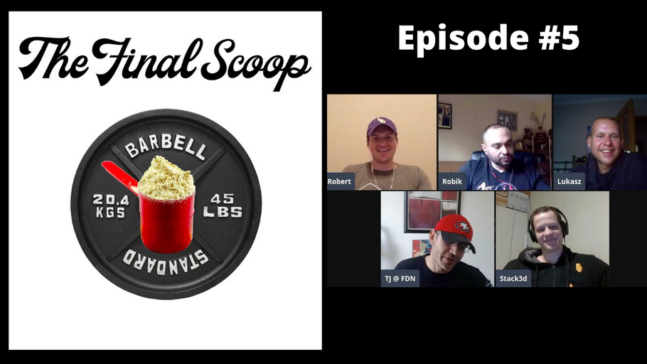 "The Final Scoop Episode #5: Do Fat Burners ""Work"", Layne Norton Comeback, Inspired DVST8 of the Union, & Bowmar Butter"