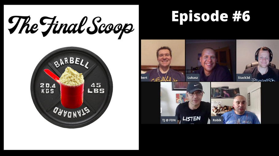 The Final Scoop Episode #6: The Future of Tradeshows, Inspired Amino, MAN Sports Rebrand & More